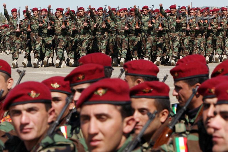 Peshmerge kurdski vojnici