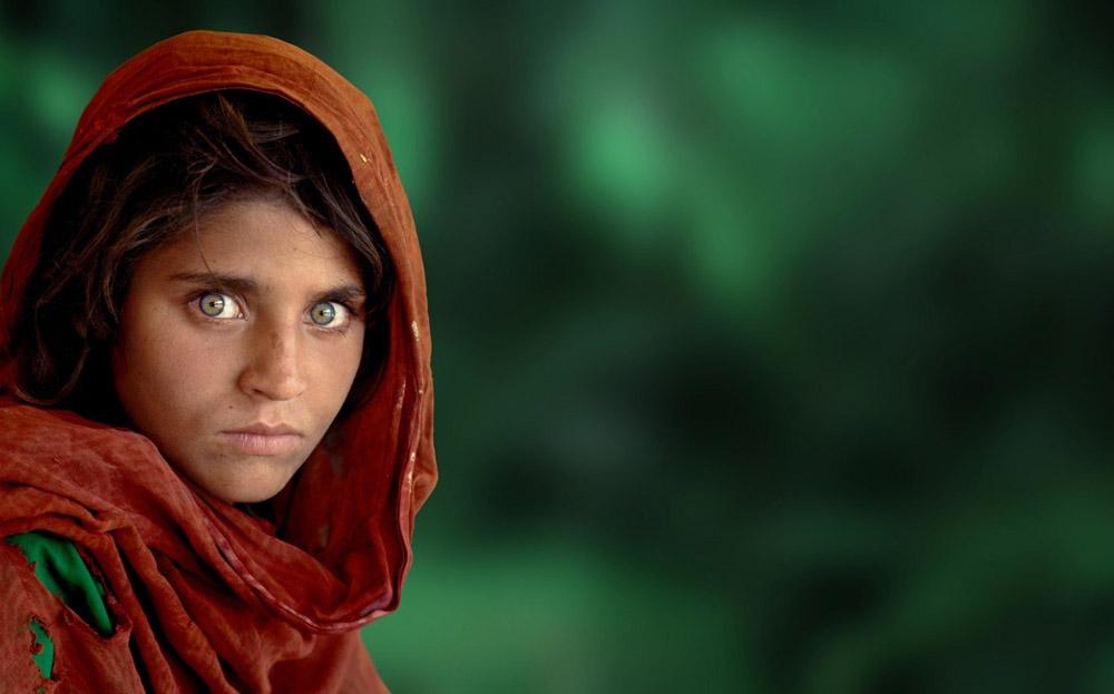 afganistanska djevojka - national geographic