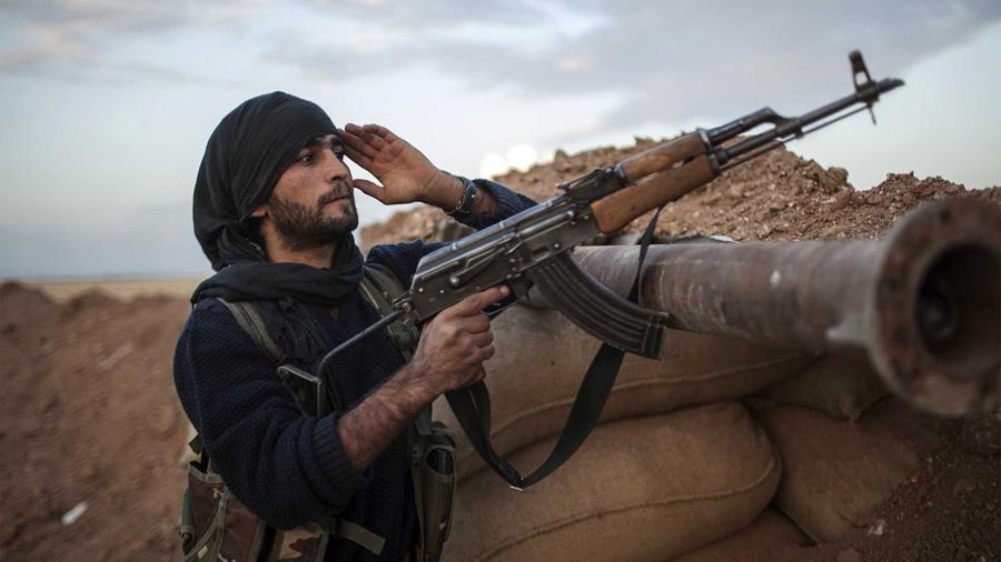 ISIL borac u Siriji