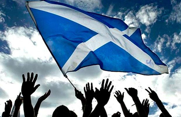 Škotska nacionalna zastava
