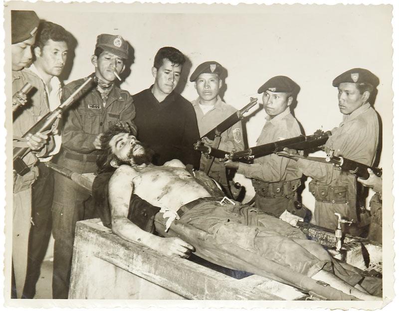 che guevara ubijen u boliviji